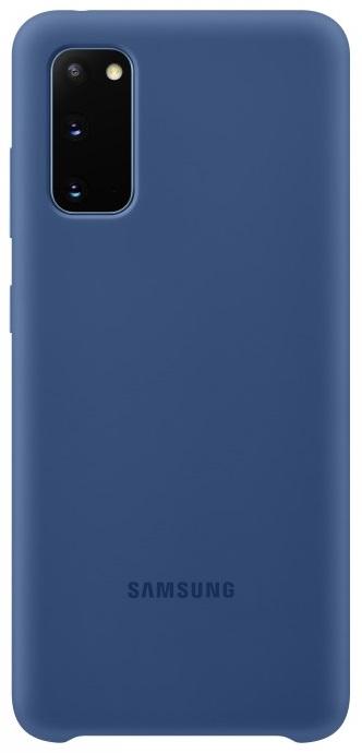 Клип-кейс Samsung Galaxy S20 силиконовый Blue (EF-PG980TNEGRU) фото