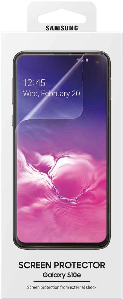 Пленка защитная Samsung Galaxy S10e ET-FG970CTEGRU прозрачная фото