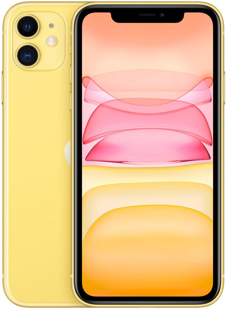 Смартфон Apple iPhone 11 64Gb Желтый фото
