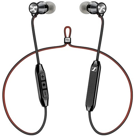 Беспроводные наушники с микрофоном Sennheiser M2 SW Black беспроводные наушники sennheiser momentum wireless m2 oebt black