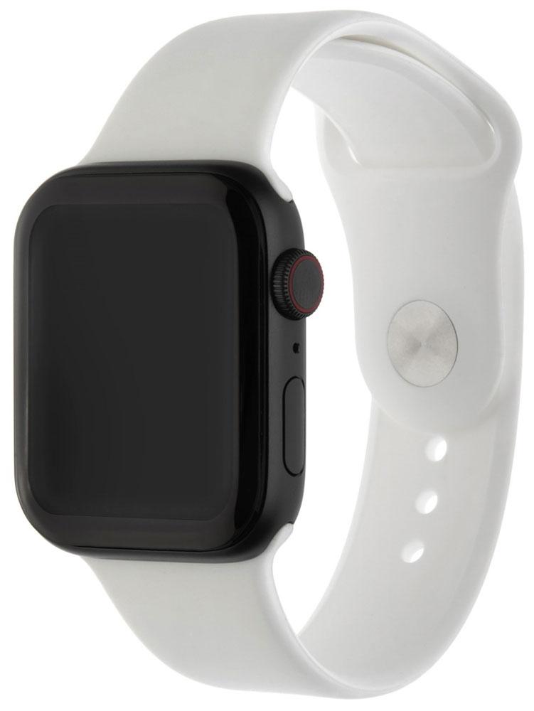 Ремешок для умных часов InterStep Sport Apple Watch 42/44мм силиконовый White все цены