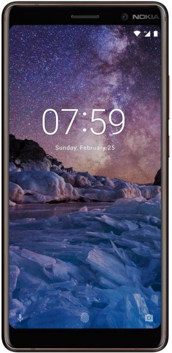 Смартфон Nokia 7 Plus Black сотовый телефон nokia 7 plus black copper