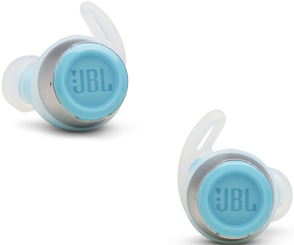 Беспроводные наушники с микрофоном JBL Reflect flow Turquoise фото