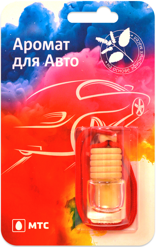 Ароматизатор Ambielectric подвесной для автомобиля аромат COR 2 мл