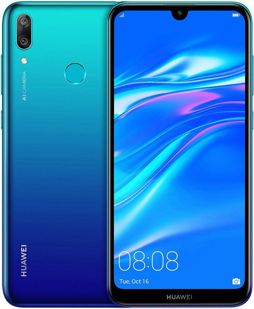 Смартфон Huawei Y7 2019 3/32Gb Blue фото