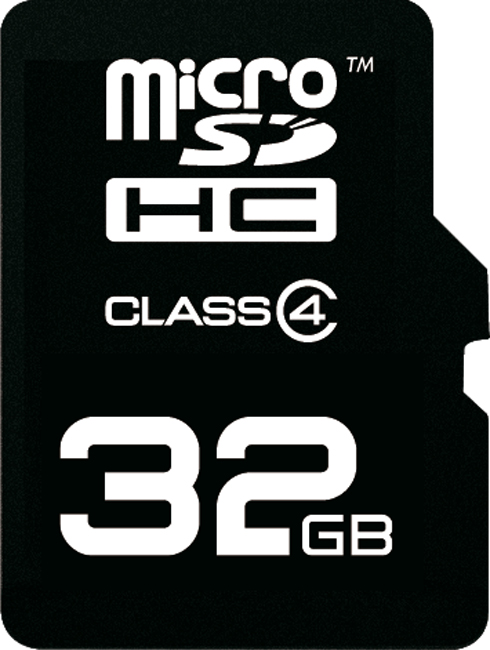 Карта памяти MicroSDHC Emtec 32Gb Class 4 без адаптера