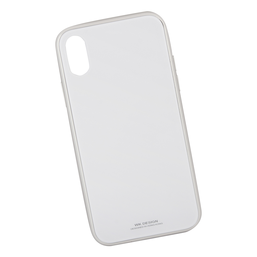 Клип-кейс Berkin для Apple iPhone X Glass white цена и фото