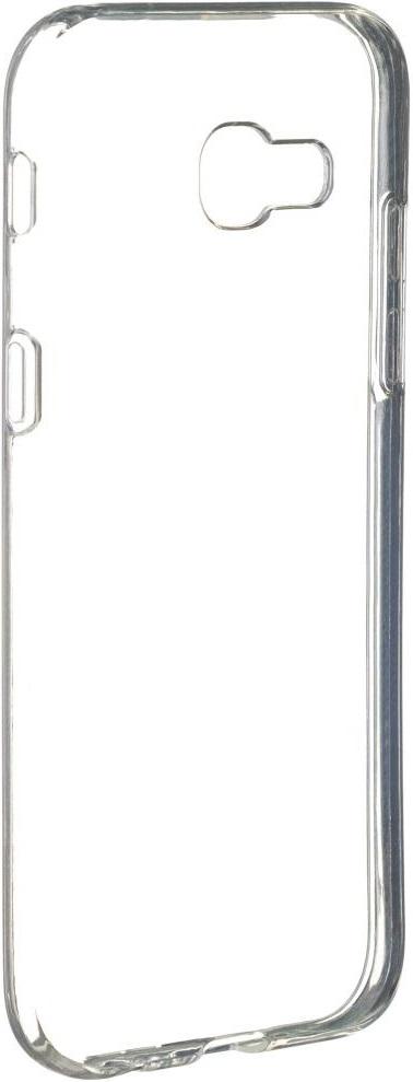 Клип-кейс RedLine Crystal для Samsung Galaxy A5 2017 прозрачный кейс для назначение ssamsung galaxy a5 2017 a3 2017 прозрачный с узором кейс на заднюю панель слон мягкий тпу для a3 2017 a5 2017