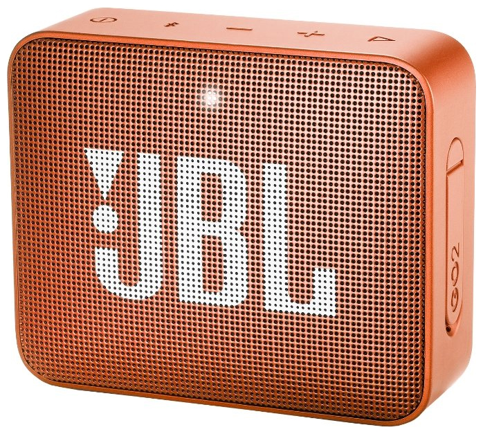 Портативная акустическая система JBL GO 2 Orange аккумулятор momax ipower go mini 8400mah ip36d orange
