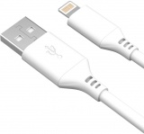 фото Дата-кабель Akai CBL404 USB-Lightning Apple MFI 1,2м White