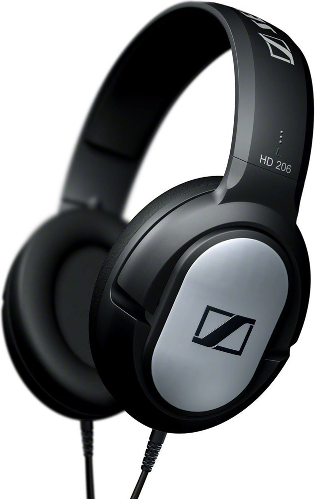 Наушники Sennheiser HD 206 Black sennheiser hd 599