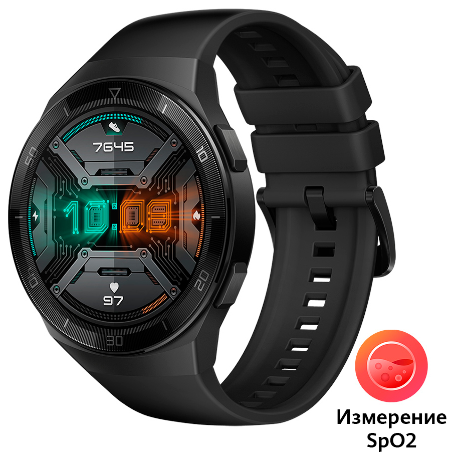 Часы Huawei Watch GT 2e Black (Hector-B19S) фото