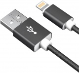 фото Дата-кабель Akai CBL203 USB-Apple Lightning Apple 1м Black