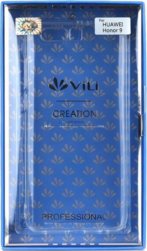 Клип-кейс Vili Honor 9 прозрачный все цены
