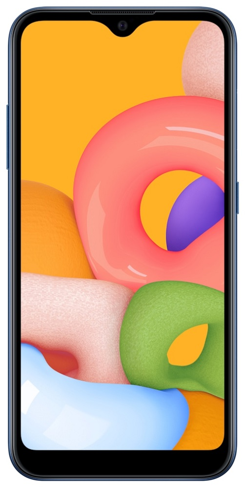 Смартфон Samsung A015 Galaxy A01 2/16Gb Blue фото