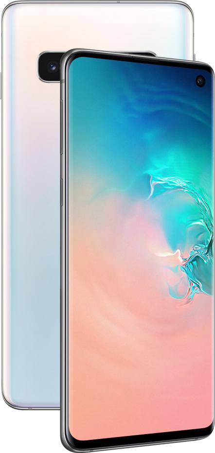 Смартфон Samsung G973 Galaxy S10 8/128Gb Перламутр фото