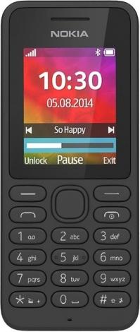 7b2c05f504ac7 Добавить к сравнению Перейти к сравнению. фото Мобильного Телефона Nokia  130 Dual sim Black; фото Мобильного ...