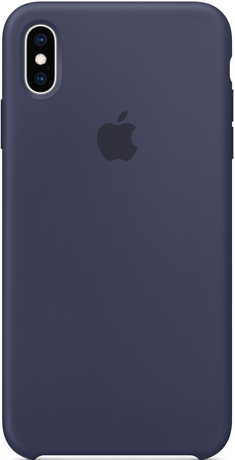 Клип-кейс Apple iPhone XS Max силиконовый MRWG2ZM/A DeepBlue фото