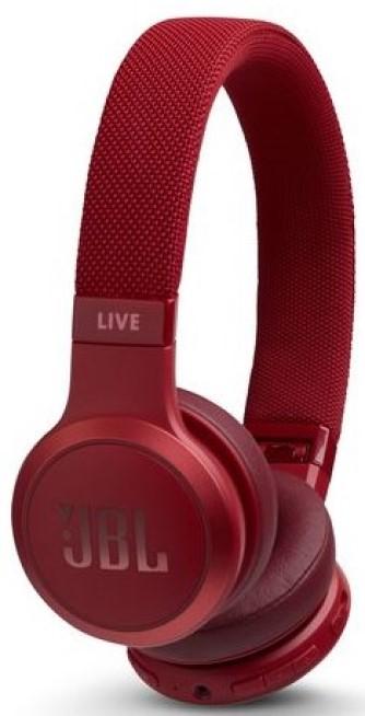 Наушники JBL Bluetooth LIVE400BTBLK накладные Red фото