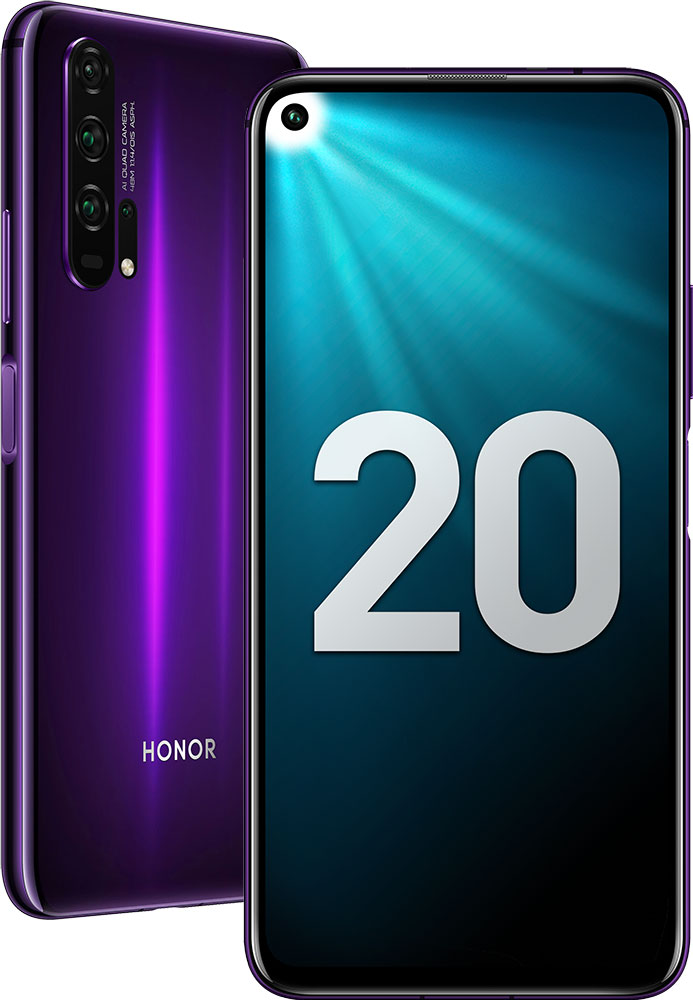 Смартфон Honor 20 Pro 8/256 Gb Phantom Black фото