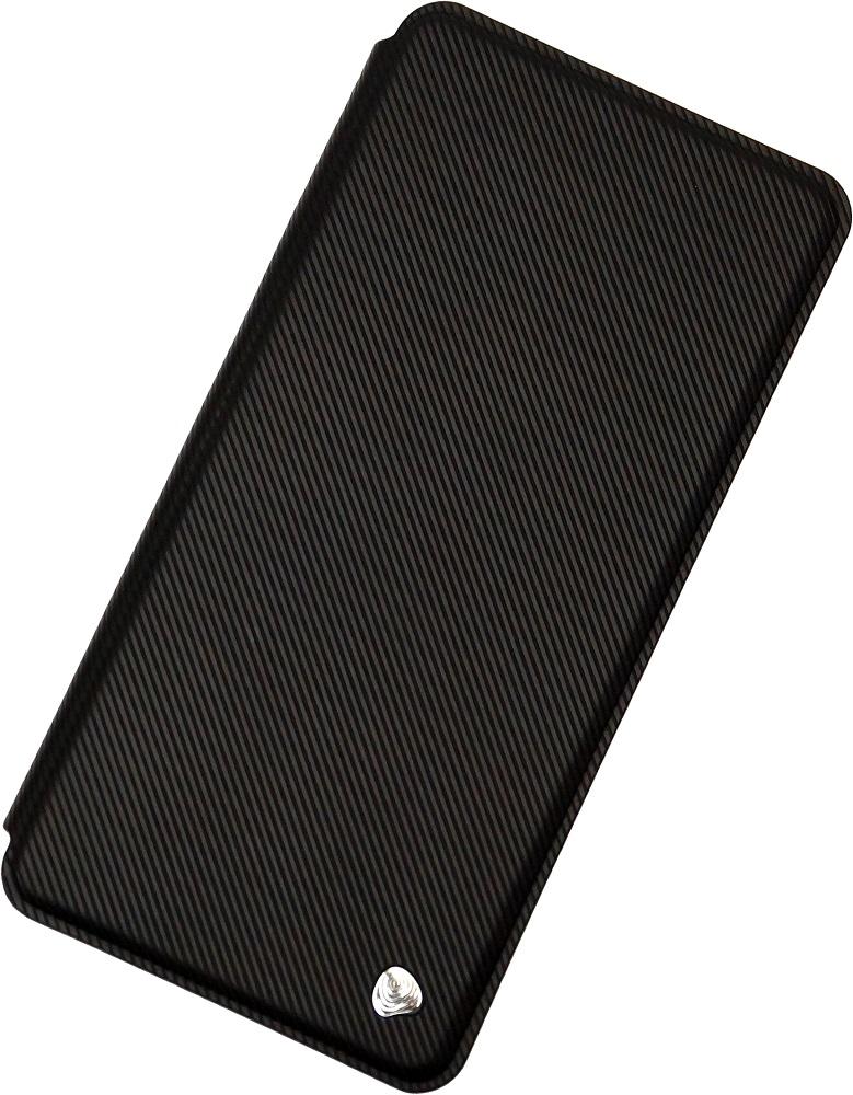 Чехол-книжка OxyFashion Samsung Galaxy J4 рубчик Black