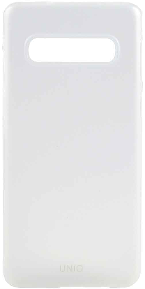 Клип-кейс Uniq Samsung Galaxy S10 White клип кейс uniq samsung galaxy s10 plus black