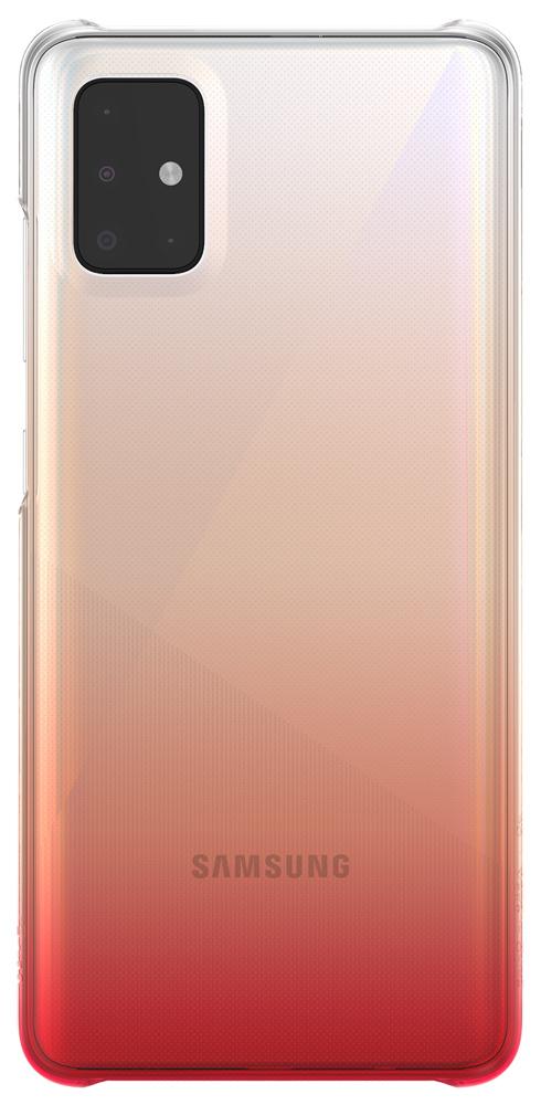 Клип-кейс WITS Samsung Galaxy A51 градиент Red (GP-FPA515WSBRR) фото