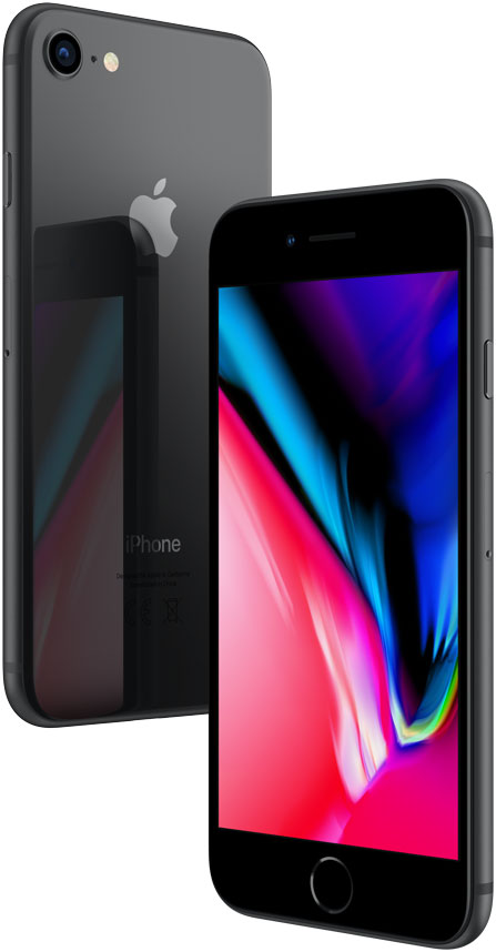 Смартфон Apple iPhone 8 64Gb Space Gray (Серый Космос) фото