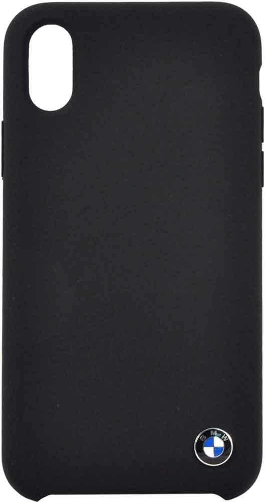 Клип-кейс BMW iPhone XS силикон black клип кейс bmw iphone xs max силикон black