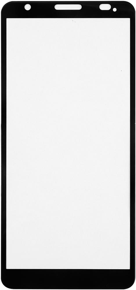 Стекло защитное RedLine ZTE Blade A3 (2020) черная рамка