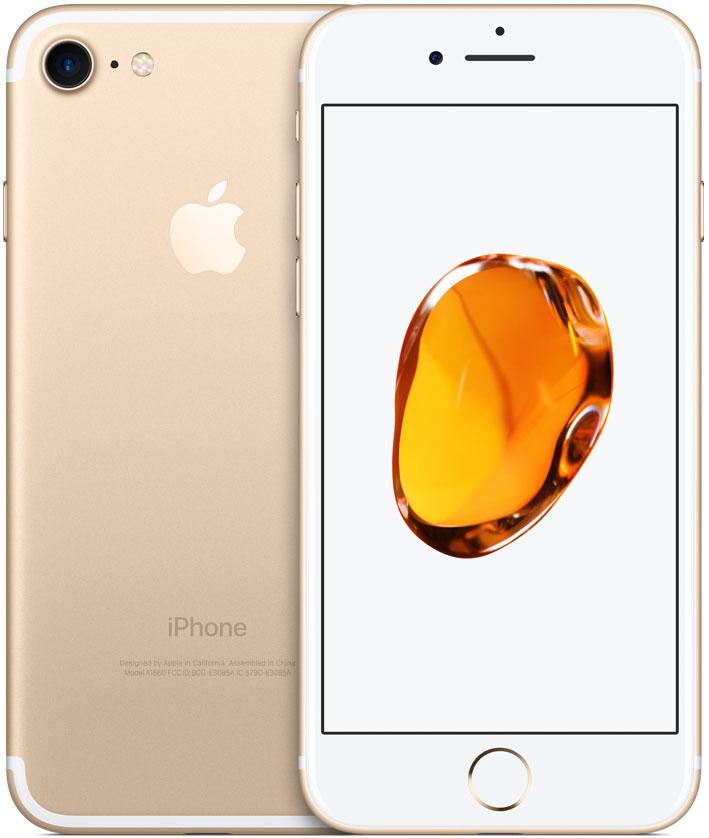 Смартфон Apple iPhone 7 32GB Gold (MN902RU/A) фото
