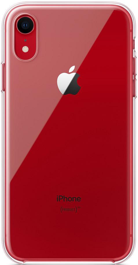 Клип-кейс Apple iPhone XR MRW62ZM/A прозрачный фото