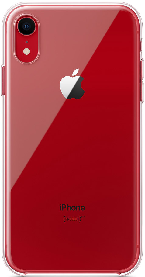 Клип-кейс Apple iPhone XR MRW62ZM/A прозрачный клип кейс inoi prism для apple iphone xr серебристый