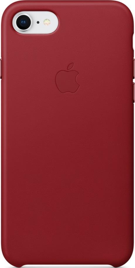 Клип-кейс Apple iPhone 8/7 кожаный Red