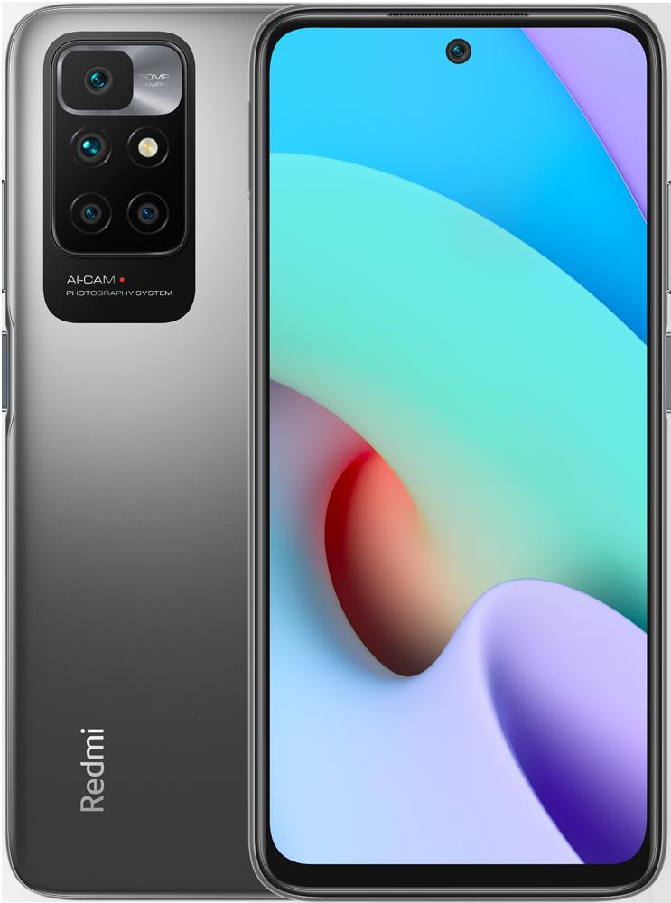 Смартфон Xiaomi Redmi10 4/128Gb Grey