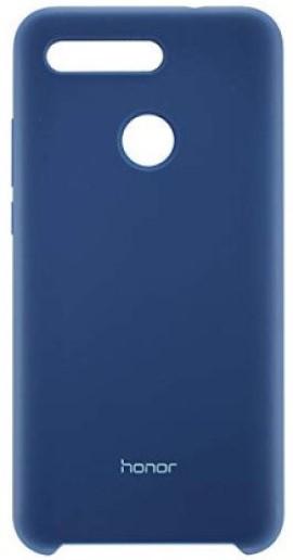 Клип-кейс Huawei Honor View 20 силикон Blue (51992808) смартфон honor view 20 256gb красный
