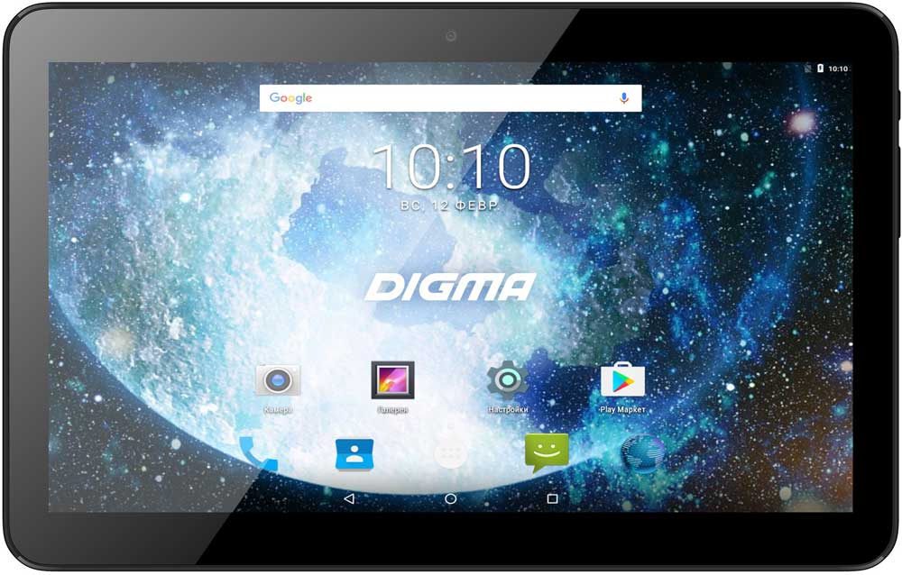 Планшет Digma Plane 1713T 10.1 16Gb 3G Black планшет digma plane 7012m 3g red black