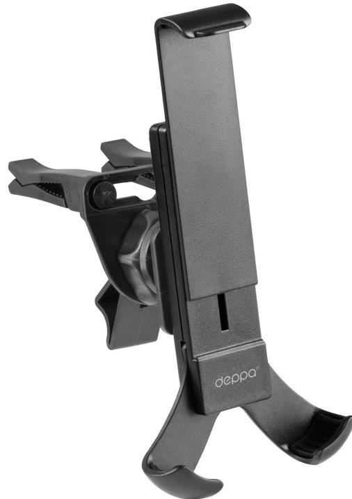 Держатель автомобильный Deppa Crab Air для смартфонов 3.5-5.5 крепление на вентиляционную решетку держатель магнитный на вентиляционную решетку для телефона cellularline 1