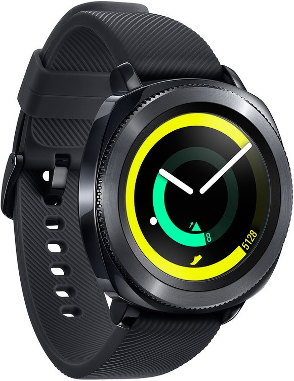 Часы Samsung Gear Sport SM-R600NZKASER Black умные часы samsung gear sport black sm r600nzkaser