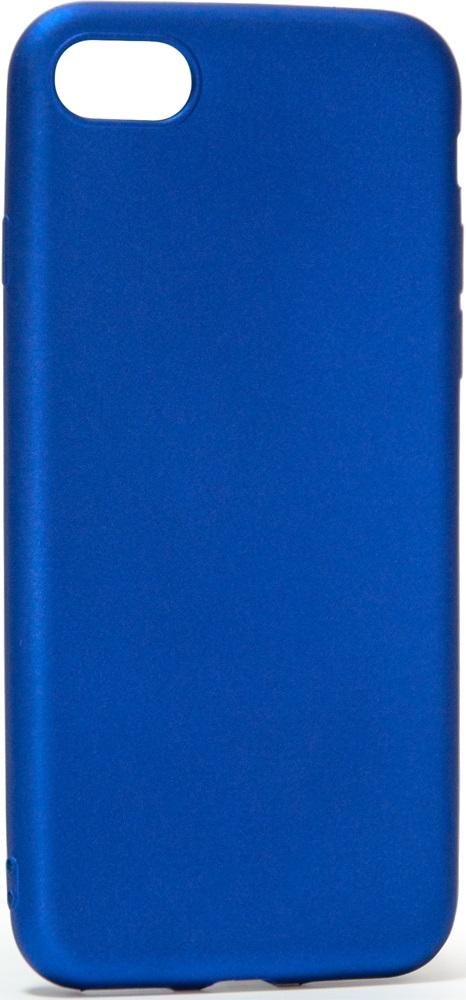 Клип-кейс Vili Oil Soft Touch iPhone 8 Blue клип кейс vili silicone case iphone 8 plus blue
