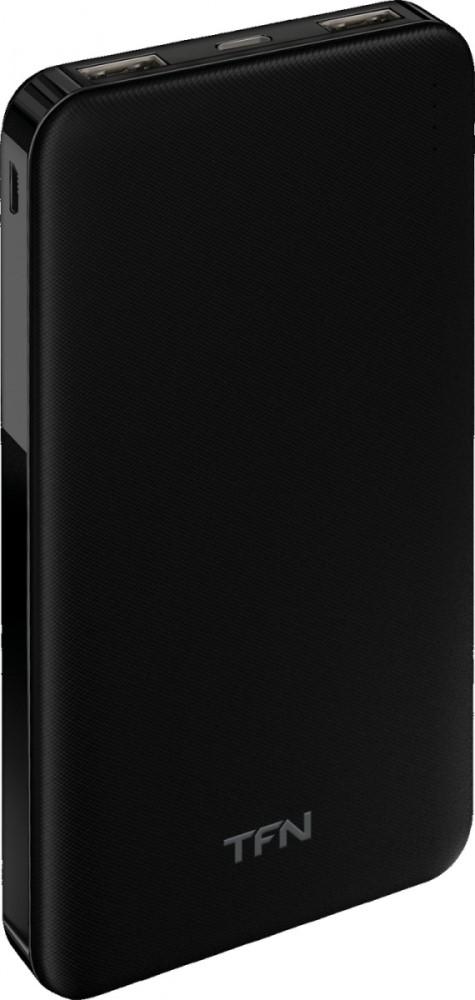 Внешний аккумулятор TFN Slim Duo 10000mAh Black фото