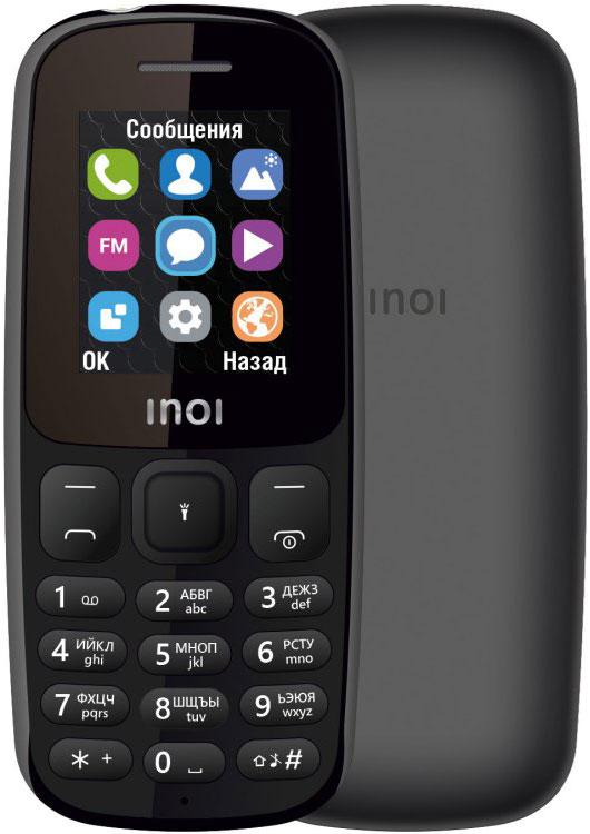 Мобильный телефон INOI 101 Dual sim Black