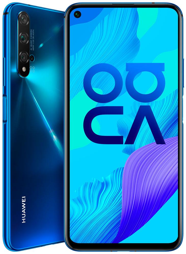 Смартфон Huawei Nova 5T 6/128Gb Crush Blue фото