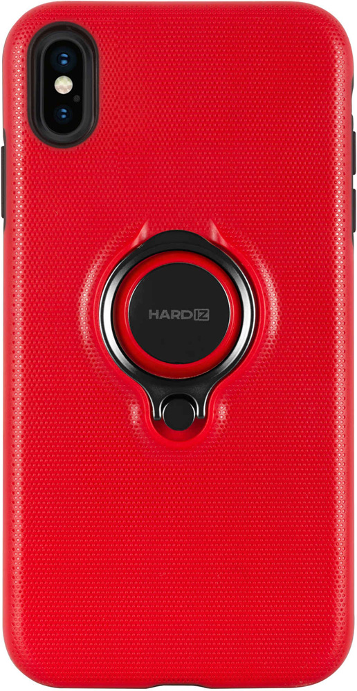 Клип-кейс Hardiz Apple iPhone XS Max Urban с кольцом Red фото