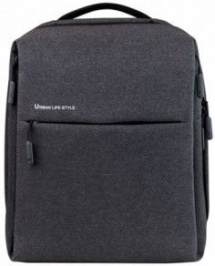 Рюкзак Xiaomi Mi City Backpack 15 dark-grey рюкзак xiaomi mi college casual shoulder bag light grey 74484