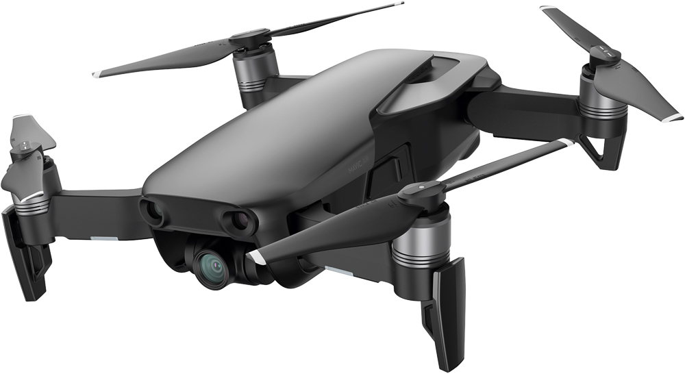 Квадрокоптер DJI Mavic Air Black квадрокоптер dji phantom 4 advanced