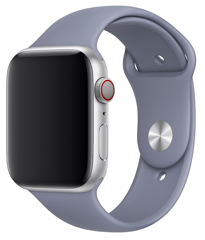 Ремешок для умных часов Everstone ES-AWBS-205 Apple Watch 42/44мм силиконовый Lavender фото