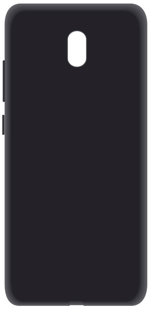 Клип-кейс LuxCase Xiaomi Redmi 8A силиконовый Black фото
