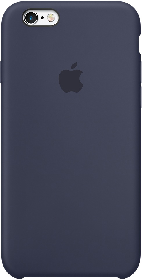 Клип-кейс Apple для iPhone 6s силиконовый Dark Blue cullmann rio fit 100 dark blue c98840