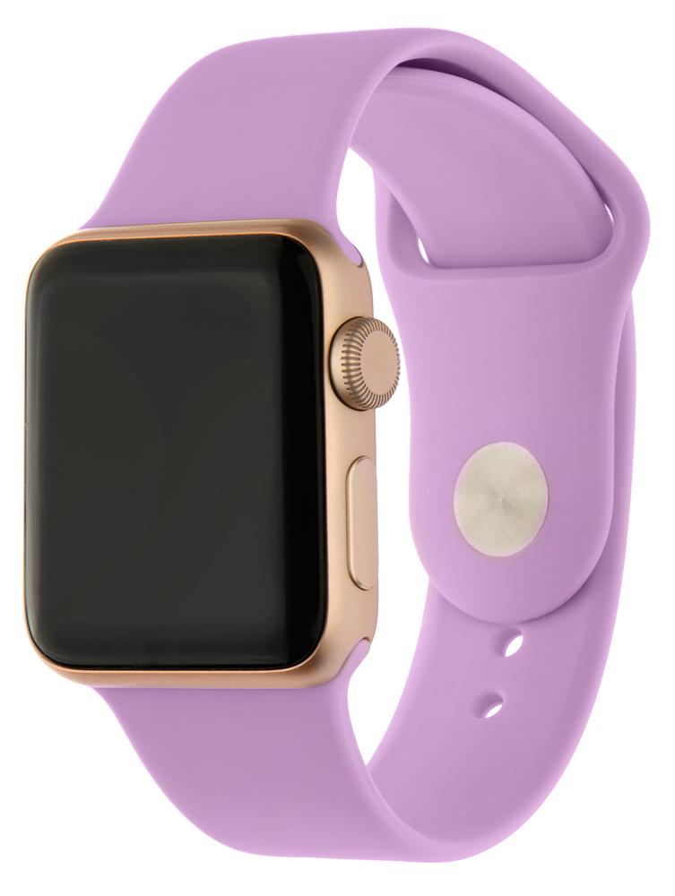 Ремешок для умных часов InterStep Sport Apple Watch 38/40мм силиконовый Purple стоимость